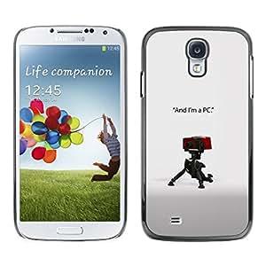 Caucho caso de Shell duro de la cubierta de accesorios de protección BY RAYDREAMMM - Samsung Galaxy S4 - Soy un PC