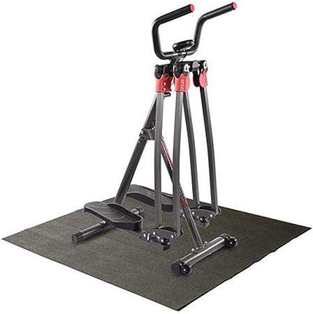 Paso a paso Cubierta fitness escalera paso a paso Paso portátil Máquina Máquinas de ejercicios Cardio Trainer ejercicio Twisted disco con asas Entrenamiento de pasos arriba y abajo para princip: Amazon.es: Hogar