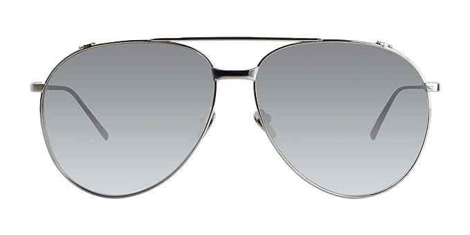 Amazon.com: Linda Farrow LFL425 - Gafas de sol con espejo ...