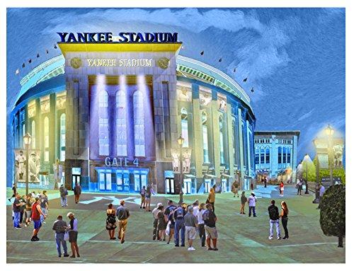 ヤンキーススタジアムナイトゲーム 20x16 ECL2-6