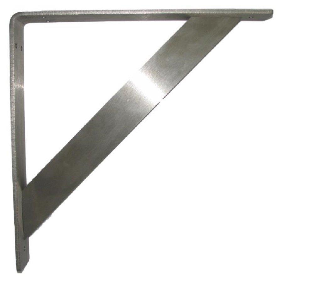 RMP Stainless Steel Corbel, Heavyweight, 14 Inch x 14 Inch , Set of 2