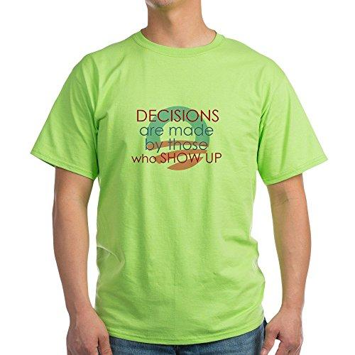 (CafePress The West Wing Light T Shirt 100% Cotton T-Shirt Green)