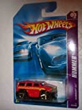 hummer h3 toy car - Hummer Series #3 Hummer H3 Red Malaysia #2007-63 Collectible Collector Car Mattel Hot Wheels 1:64 Scale
