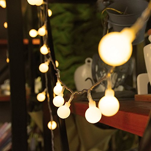 Globe String Lights Indoor : Innoo Tech 100 LED Indoor Globe String Lights (Warm White) Deals,...