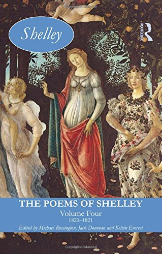 Book cover from The Poems of Shelley: Volume Four: 1820-1821 (Longman Annotated English Poets) by Percy Bysshe Shelley