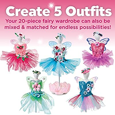 Creativity for Kids Designed by You Fairy Fashions – Create Your Own Doll Clothes: Toys & Games