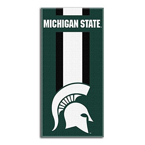 - Northwest NCAA Michigan State Spartans  Beach Towel,  30 x 60-inch