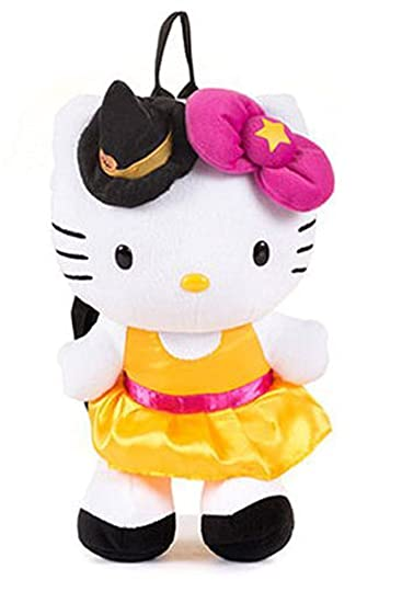 Amazon.com: Hello Kitty Halloween Plush Backpack: Sports & Outdoors