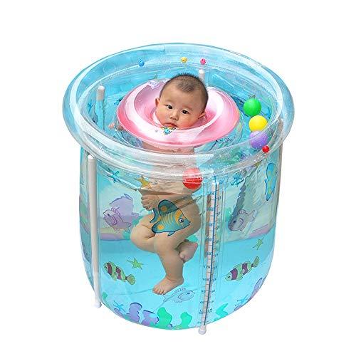 LEYOUDIAN Yugang Bebé Piscina hogar Transparente Inflable bebé natación Cubo niños pequeños y niños bañera Gruesa...