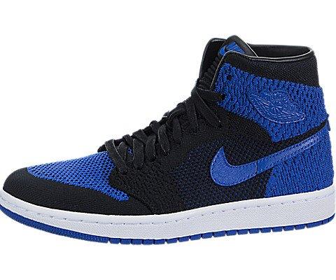 Jordan Air 1 Retro High Flyknit BG Youth Lifestyle Sneakers - 5 Nadal Air