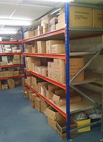 Longspan estante estantería 2500 mm (H), 2700 mm (W), 600 mm ...
