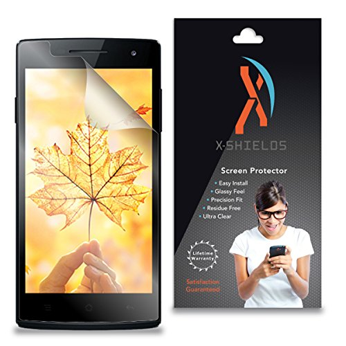 XShields© (5-Pack) Screen Protectors for Oppo R827 (Ultra (Oppo R827 Screen Protector)