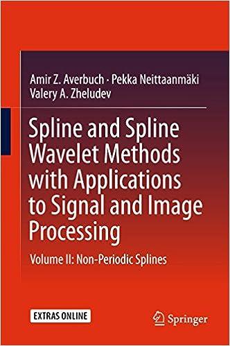 Spline and Spline Wavelet Methods with Applications to