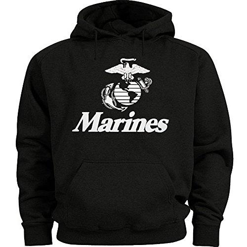 Lucky Ride US Marines Sweatshirt USMC Hoodie Marine Corps Large
