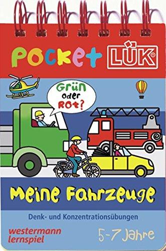 PocketLÜK: Meine Fahrzeuge: Denk- und Konzentrationsübungen