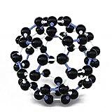 FEITONG Scientific 23mm Chemistry Teaching Crystal Carbon 60 C60 Atom Molecular Model Kit Set