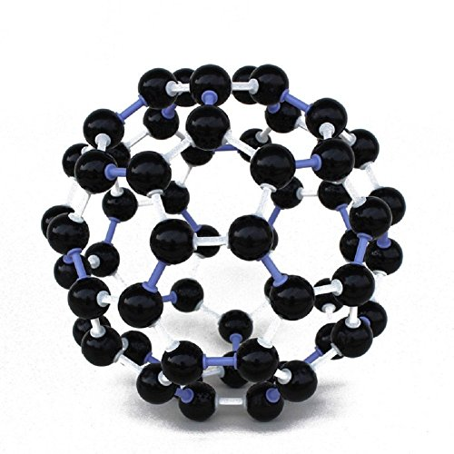 FEITONG Scientific 23mm Chemistry Teaching Crystal Carbon 60 C60 Atom Molecular Model Kit Set by FEITONG