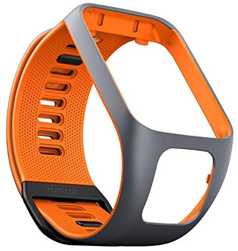 TomTom Spark GPS Fitness Watch Accessory Strap (Grey/Orange, -
