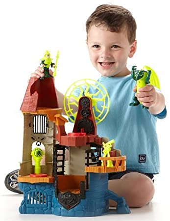 Amazoncom FisherPrice Imaginext Castle Wizard Tower Toys  Games