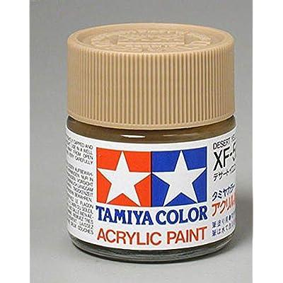 Tamiya America, Inc Acrylic XF59, Flat Desert YEL, TAM81359: Toys & Games