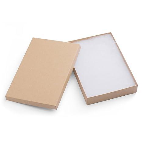 Mesha 20 pcs cajas de joyería 8 x 5,5 x 1,25 pulgadas
