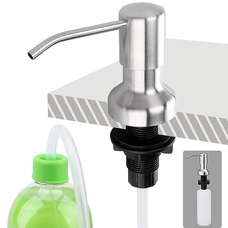 Amazon.com: Brobery - Dispensador de jabón y tubo de ...