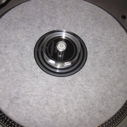 Record Player Turntable Precision Bubble Level Leveling Gauge