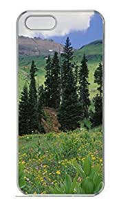 Alpine Meadow Of Sneezeweed Colorado Cover Case Skin For SamSung Galaxy S5 Mini Phone Case Cover Hard PC Transparent Kimberly Kurzendoerfer