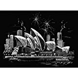 Arts & Crafts : Royal and Langnickel Famous Places Engraving Art, Sydney Opera House