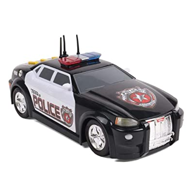 Tonka Lights and Sound Mighty Fleet Police Car (Colors May Vary): Toys & Games