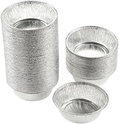 Juvale Aluminum Foil Pie Pans - 100-Piec