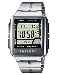 Casio WaveCeptor WV-59DE-1AVEF Men's Digital Quartz Multifunction Watch with Steel Bracelet, Radio Controlled