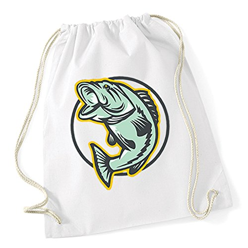 Fish Comic Gymsack White Certified Freak zAzjyGY