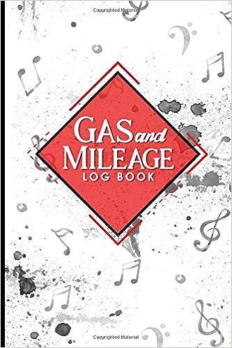 amazon com gas mileage log book mileage keeper mileage tracker
