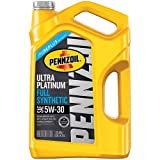 Pennzoil 550045201 Ultra Platinum 5 quart 5W-30 Full Synthetic Motor Oil (SN/GF-5 Jug)