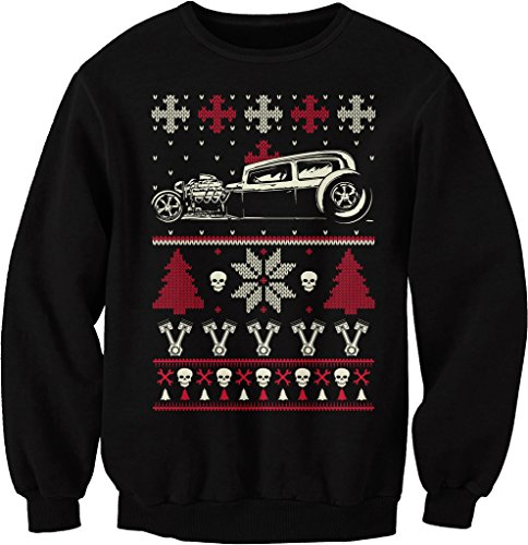 GearHead Hot Rod Christmas Sweatshirt