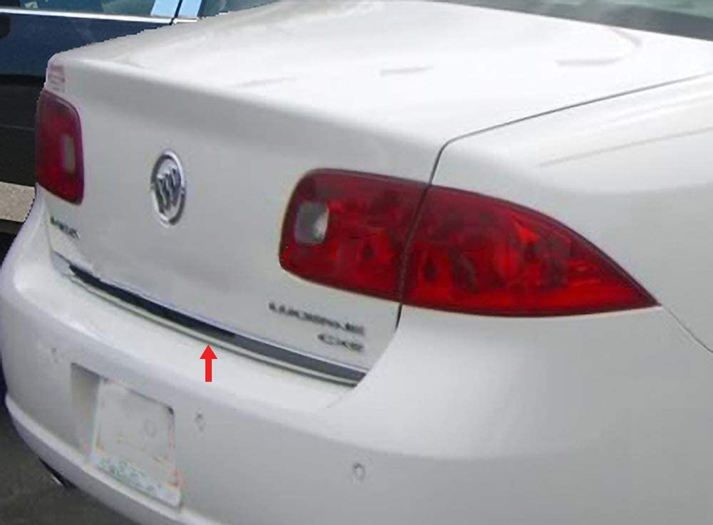 Made in USA Works with 2006-2011 Buick Lucerne Rear Trunk Chrome Molding Trim 1.5 Wide 1PC