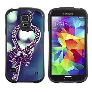 Paccase / Suave TPU GEL Caso Carcasa de Protección Funda para - Love cute - Samsung Galaxy S5 SM-G900