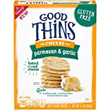 Good Thins Parmesan Garlic Crackers, 3.5oz Box