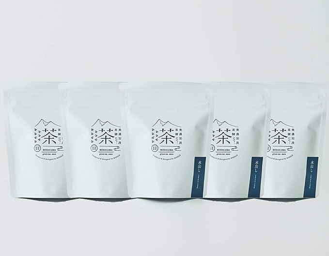 美濃加茂茶舗 水出し(ティーバッグ)10個入り×5 【国産】白川茶 高級茶 日本茶 ギフト プレゼント 水出し煎茶