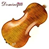 Master Old Antique 4/4 Violin Open Clear tone Beautiful One Piece Maple Back