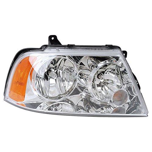 - Koolzap For 03-06 Navigator Headlight Headlamp Front Halogen Head Light Right Passenger Side