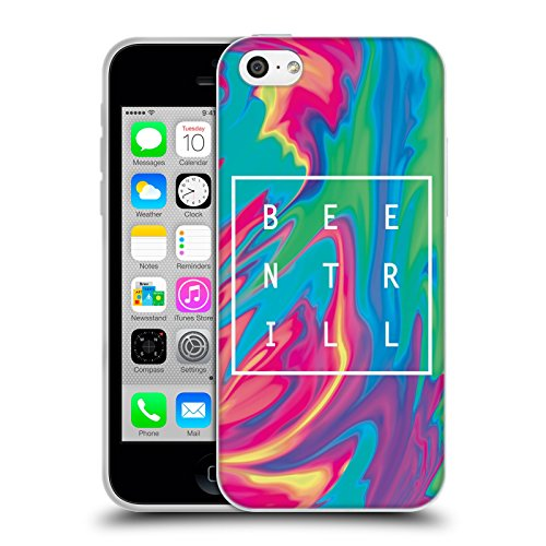 Official Been Trill Turquoise Tie Dye Soft Gel Case for Apple iPhone 5c