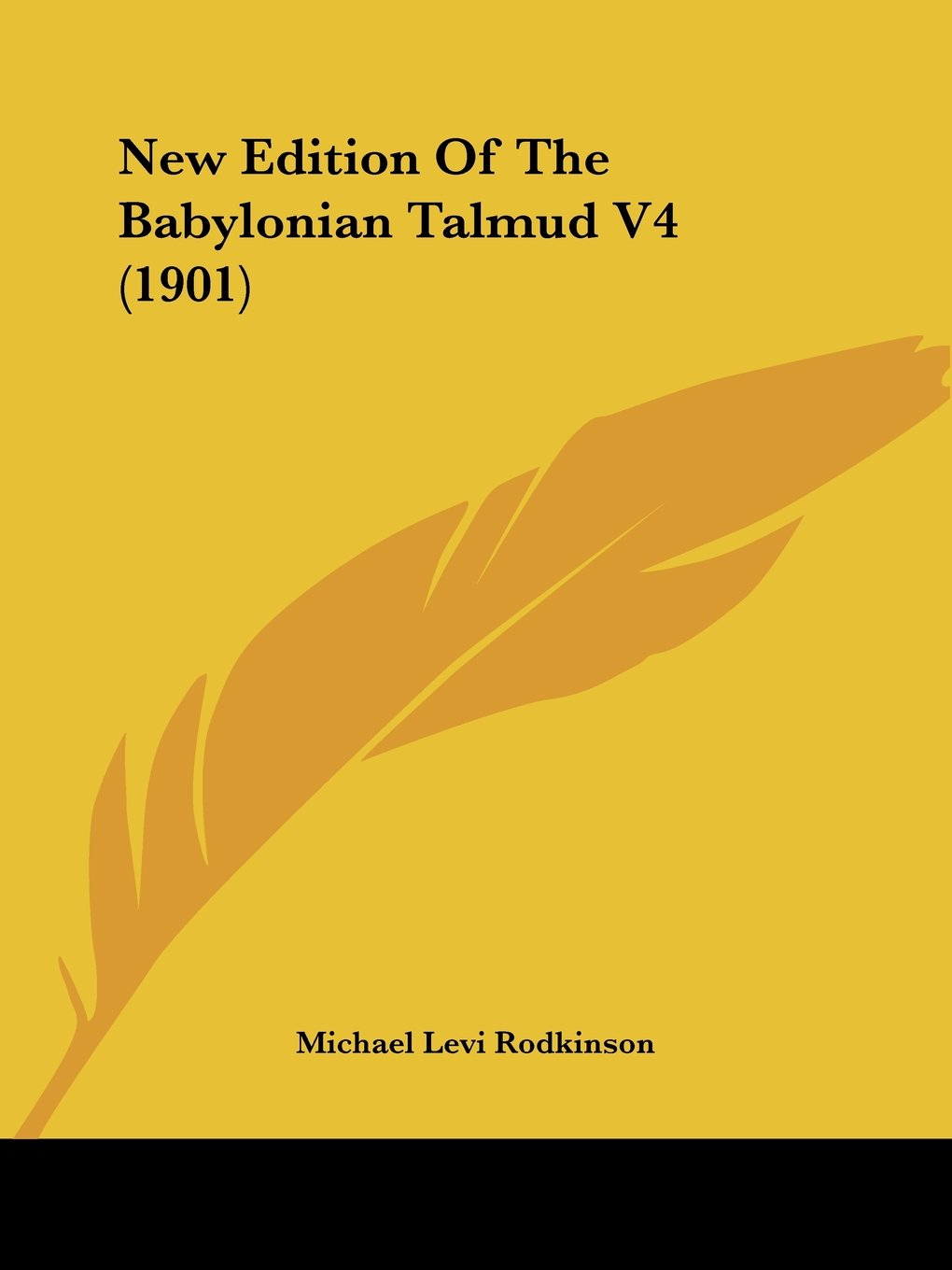 Download New Edition Of The Babylonian Talmud V4 (1901) ebook