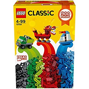 LEGO Classic Large Creative Brick Box 10698 with LEGO