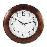 UNV10414 - Universal Round Wood Clock