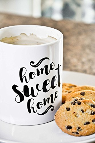Home Sweet Home Mug - Home Sweet Home Ceramic Mug - 11 OZ Coffee Mug - Tea Cup