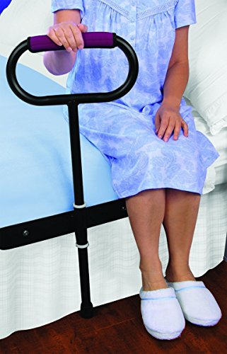 CUSHIONED BEDSIDE SUPPORT RAIL - GREAT SUPPORT FOR GETTING IN AND OUT OF BED!