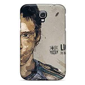 New Style Case Cover XCPGJ4398yJliX Lionel Messi Compatible With Galaxy S4 Protection Case