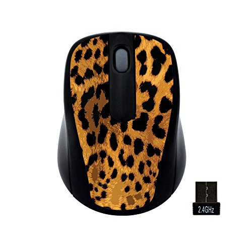 Computer Gear Mouse (Gear Head Wireless Optical Nano Mouse, Leopard (MP2120LPD))